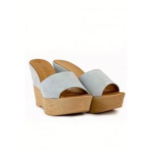 Versace 19.69 chic ladies flip flops on the wedge one strap.