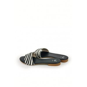 Versace 19.69 trendy ciabatte leather shoes.