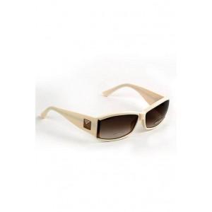 Sonia Rykiel glamorous cream sunglasses with box.