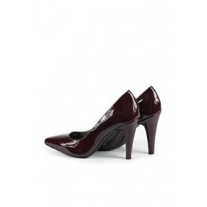Versace 19.69 metallic patent leather ladies stiletto.