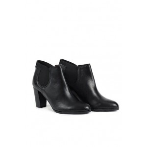 Versace 19.69 chic ankle leather boots with elastic sides