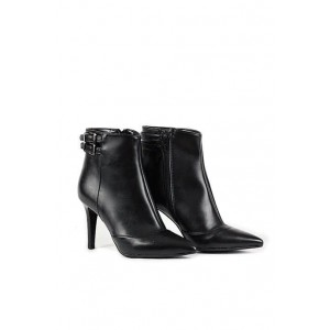 Versace 19.69 Elegant leather ankle boots with zip