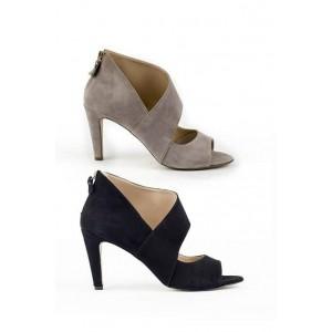 Versace 19.69 suede leather womens heel sandals.