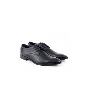 Rochas mens leather elegant laces shoes