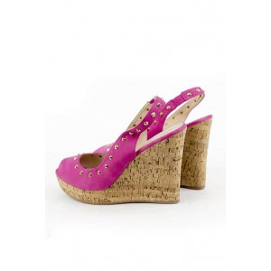 Gas stylish wedge sandals with stud