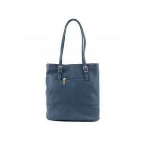 Fashion Only glamorous satchel with buckle closure.