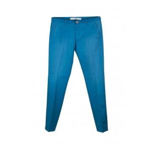 Bonavita fashionable blue mens trousers.