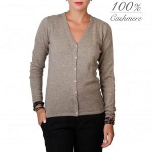 Fontana 2.0 100% cashmere cardigan pullover.