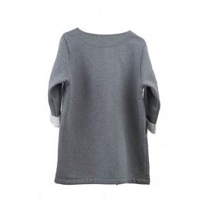 Ekosan fashionable cotton knit jacket