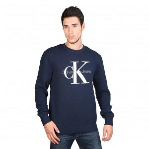 Calvin Klein men's trendy printed logo jumper