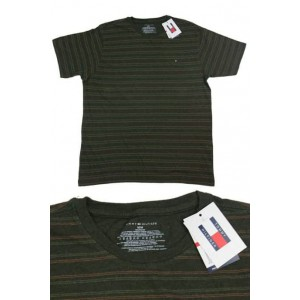 Men's Tommy Hilfiger four stripe t-shirt.