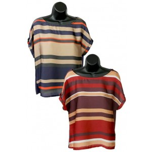 Emadora ladies stripe top