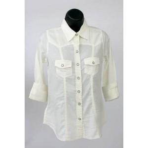 Emadora ladies front pocket shirt.