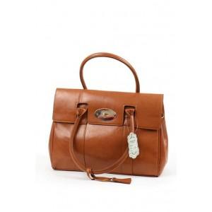 Fashion Only brown ladies fashion satchel bag.
