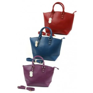 Fashion Only tote with long strap.