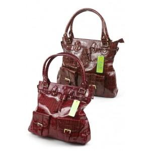 Fashion Only croc drawstring fashion tote bag.