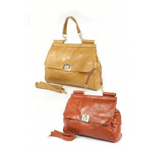 Fashion Only Flapover Tote Handbag