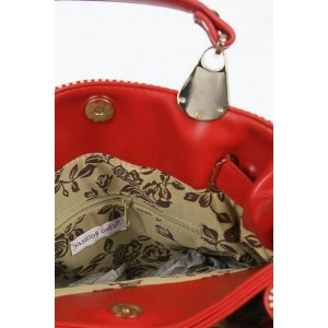 Fashion Only fabric tote bag with long strap