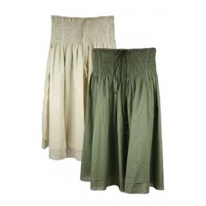 Ladies beautiful and loose skirt.