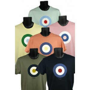 Mens Ben Sherman heritage target t-shirt
