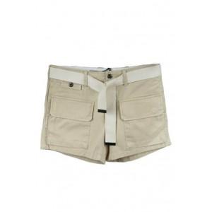 Ralph Lauren cream ladies short with belt.