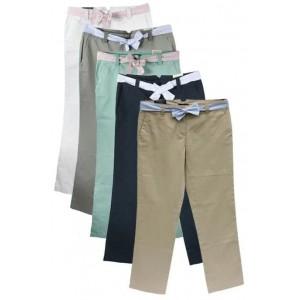 Tommy Hilfiger women's cotton trouser mixed colours.