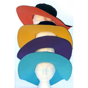 Pia Rossini contrast cotton hat.