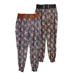 Goddess London vintage floral harem pants
